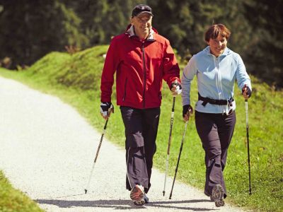 Nordic walking tours