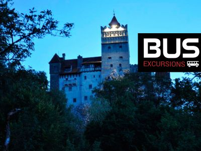 Day Excursions by bus: Tusnad Bath - Brasov - Dracula Castle - Rasnov Citadel