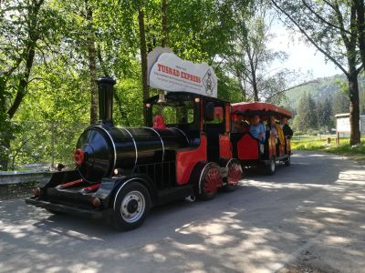 """Tusnad Express"" - Sightseeing tour by mini-train in Tusnad Bath"